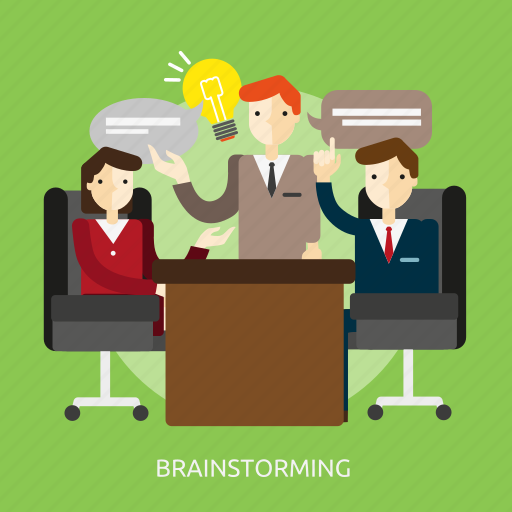 brainstorming, business, concept, creativity, idea, people icon