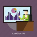 business, daily, finance, media, news, people icon