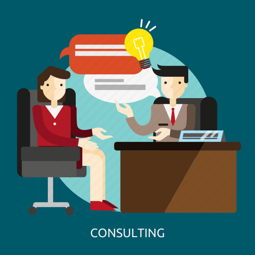 business, consultant, consulting, expert, management, people, solution icon