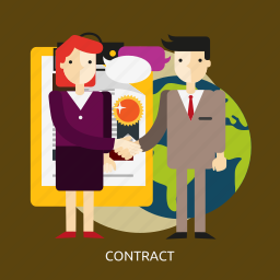 agreement, business, contract, document, legal, people, sign icon