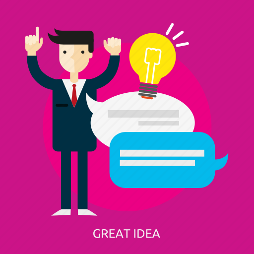 business, concept, design, great, idea, illustration, people icon
