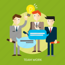 business, people, success, team, teamwork, work icon
