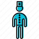 doctor, figure, man, stick, stickman icon