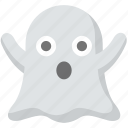 boo, ghost, halloween, scary, spooky, terrifiy icon
