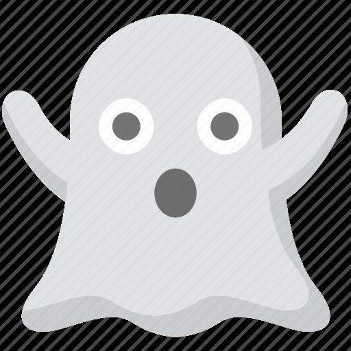 boo, ghost, halloween, scary, spooky, terrifiy icon