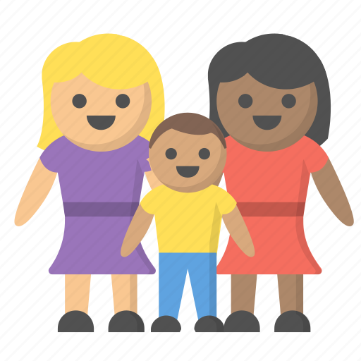 equality, family, gay, homosexual, household, lesbian, marraige icon