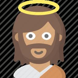 christ, christianity, god, jesus, lord, saint, savior icon
