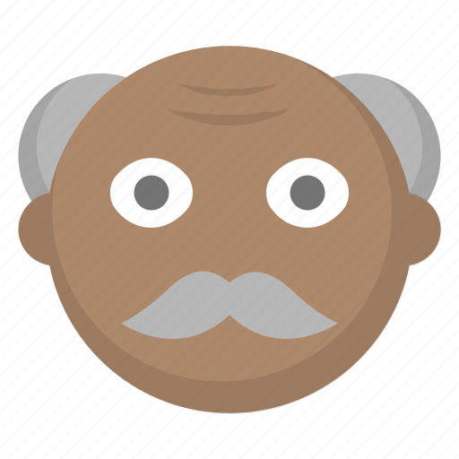 elderly, grandfather, grandpa, grey, hair, man, old icon