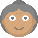 elderly, grandma, grandmother, home, nursing, old, woman icon