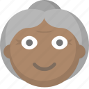 elderly, grandma, grandmother, nursing home, old, woman icon