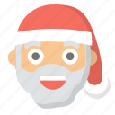 cheer, christmas, claus, holidays, man, merry, santa
