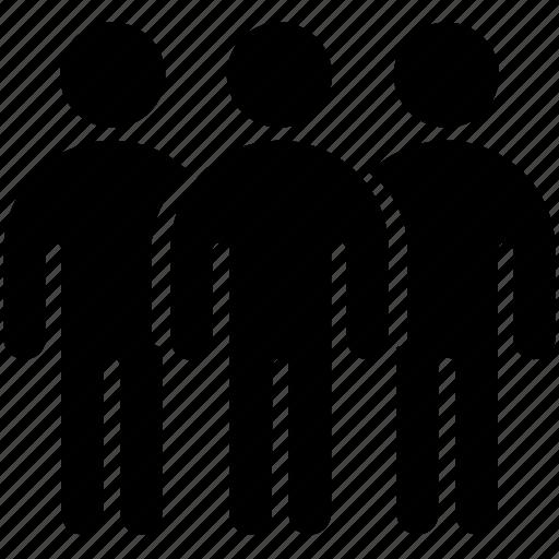 collective, figure, man, people, stick, stickman, team icon
