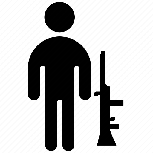 figure, killer, male, man, military, stick, stickman icon