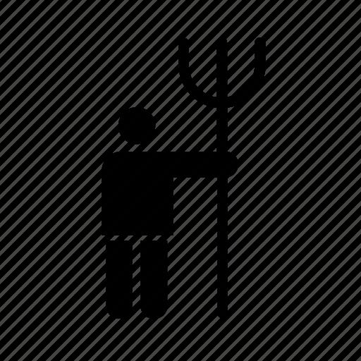 agriculture, farming, fork, garden, gardening, peasant, pitchfork icon