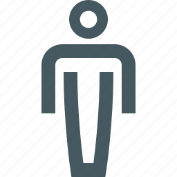 gizmo, male, man, people, simple, toilet sign icon