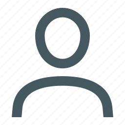 account, gizmo, people, person, simple, torso icon