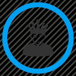 admin, boss, chief user, director, moderator, person, superior icon