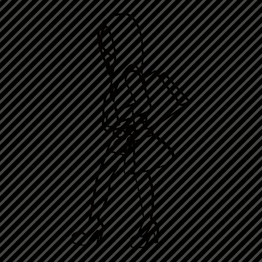 fashion, female, lady, person, shopper, street, woman icon