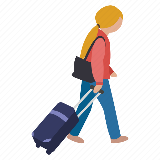 baggage, boarding, holiday, journey, luggage, suitcase, travel icon