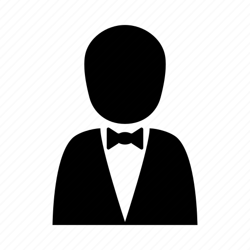 Gentleman, groom, human, people, suit, tuxedo, waiter icon - Download on Iconfinder