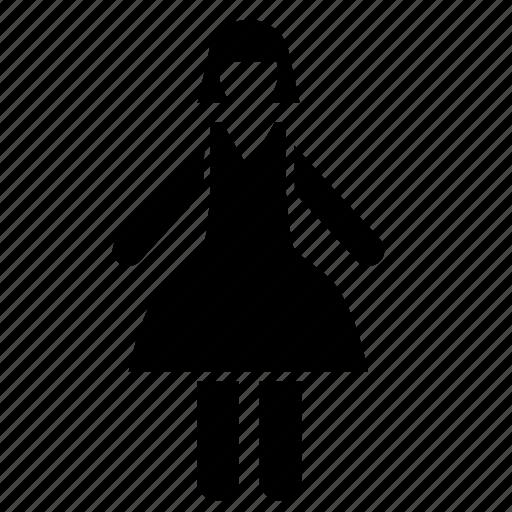 female, lady, woman icon