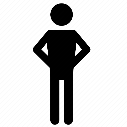 individual, man icon