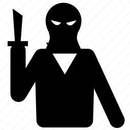 criminal, thief icon