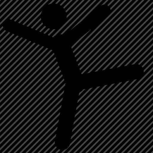 dancer, dancing, happy icon
