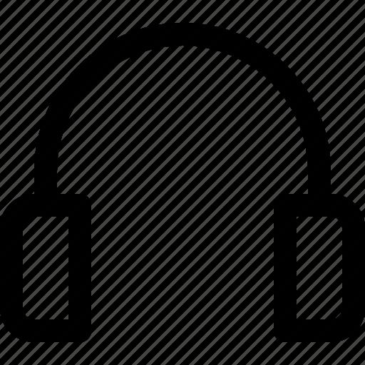 audio, headset, multimedia, music icon