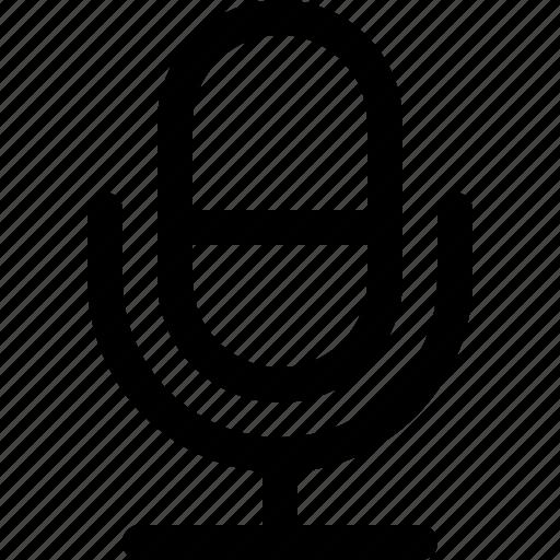 audio, media, microphone, multimedia, music icon