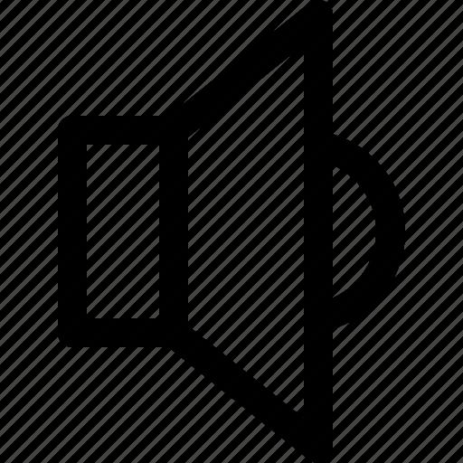 multimedia, music, off, speaker, volume icon