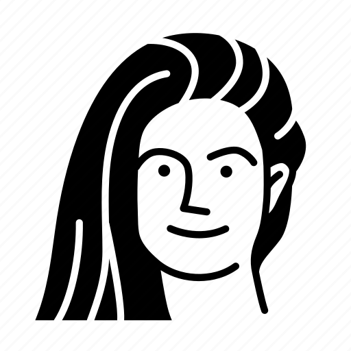 face, friend, person, persona, user, woman icon