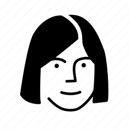face, friend, person, persona, user, woman icon
