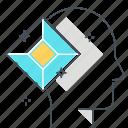 avatar, coding, diamond, face, jewel, minimal, shine