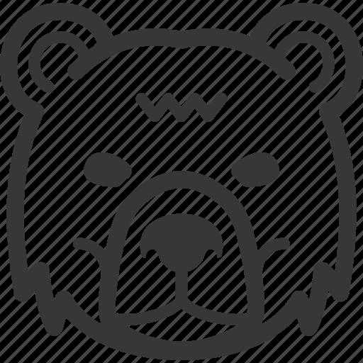 bear market, business, finance, stock market icon