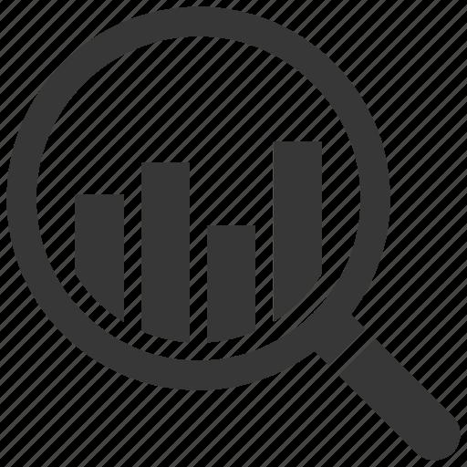 analytics, financial analysis, graph, monitoring icon