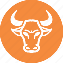 bull market, business, investment, stock market icon