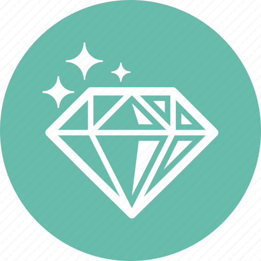 diamond, gemstone, jewelry icon