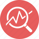 business analysis, graph, growth, statistics icon