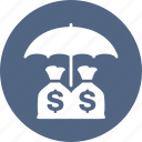 finance, insurance, investments, money, savings icon