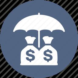finance, insurance, investments, money, savings icon