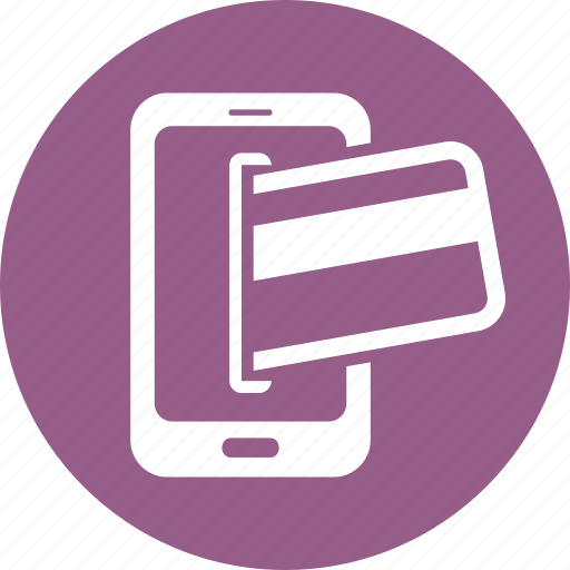 credit card, mobile banking, online payment icon
