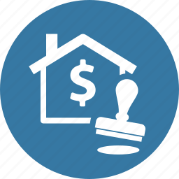 approved, home loan, mortgage loan, stamp icon