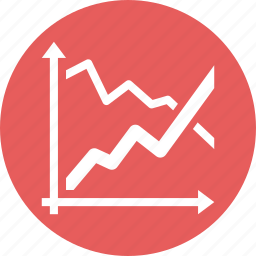 analytics, business, finance, graph, growth, report, stock market icon