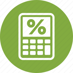 debt, loan, mortgage calculator, tax icon