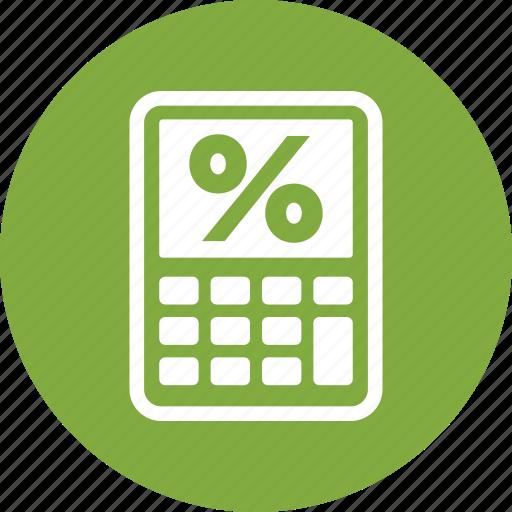 debt, loan, mortgage calculator icon
