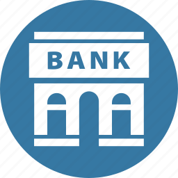 bank, courthouse, finance icon
