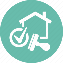 approved, home loan, mortgage, real estate, stamp icon