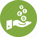 earnings, finance, investment, money, personal income, profit, revenues icon