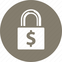 finance, lock, protection, secure, secured loan icon